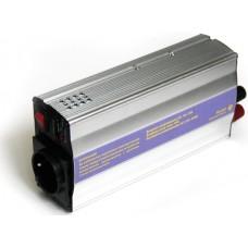 Инвертор (преобразователь питания 12->220В) от аккум. авто 500Вт(KS-051)